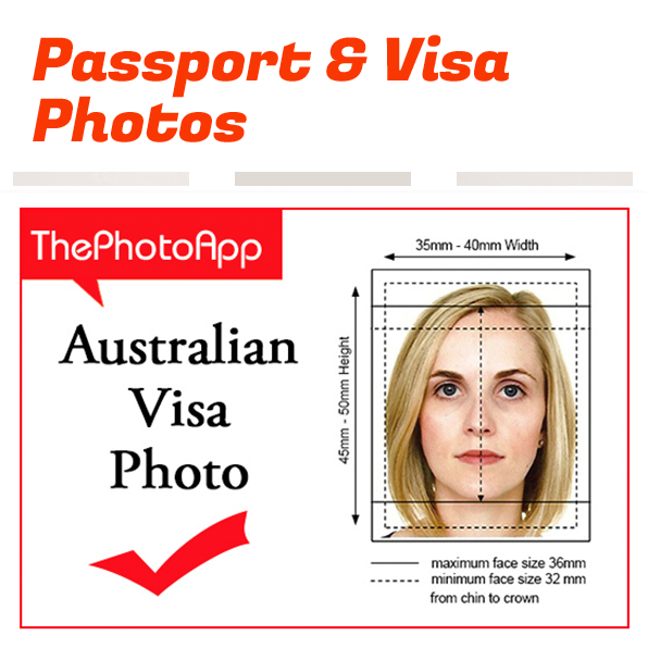 australia visa photos Barking Essex