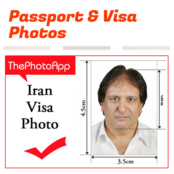 Iran visa Photo Barking Essex