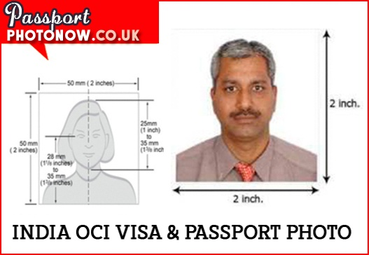 India Passport Photo