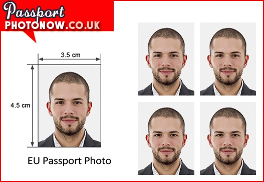 Schengen passport photos