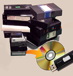 VHS to DVD Service Near Me